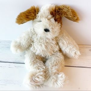 Build-A-Bear Brown/White Puppy Dog
